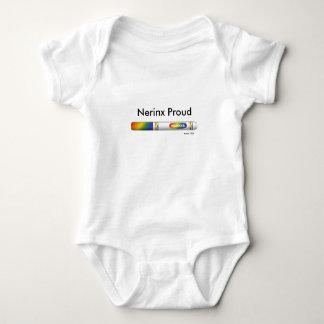 Nerinx stolzer Baby-Spielanzug Baby Strampler