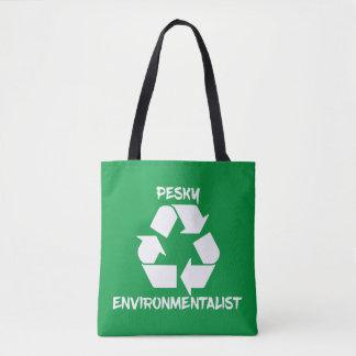 Nervtötender Environmentailist Tag der Erde