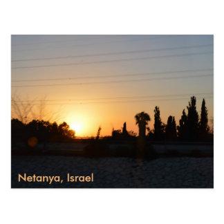 Netanja, Israel Postkarte