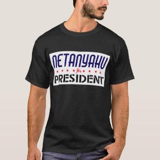 Netanyahu für Präsidenten T-Shirt