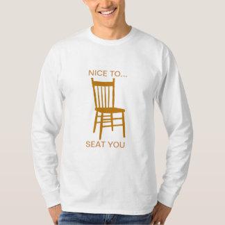 Nett, Sie zu setzen Shirts