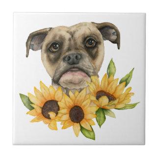 Nette | Bulldoggen-Mischung mit Keramikfliese