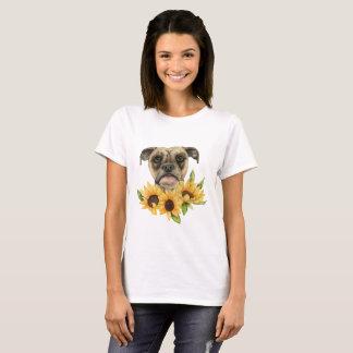 Nette | Bulldoggen-Mischung mit T-Shirt