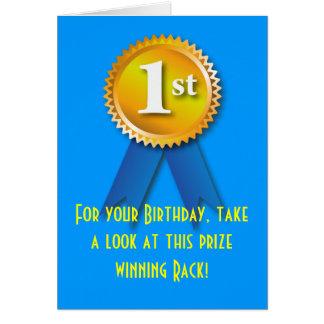 Nette Gestell-Geburtstags-Überraschung Grußkarte