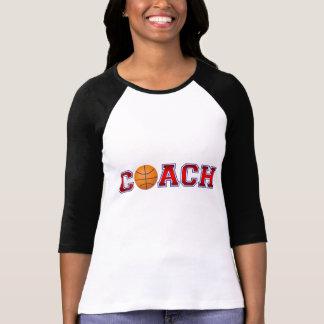 Nette Trainer-Basketball-Insignien Shirt