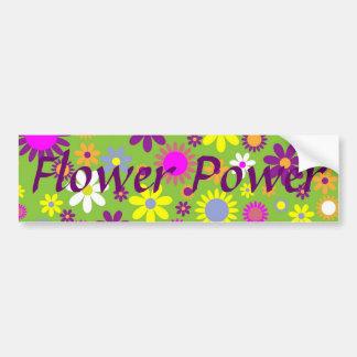 flower power aufkleber. Black Bedroom Furniture Sets. Home Design Ideas