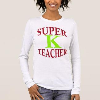 Nettere Lehrerart Ihr Heldstatus! Langärmeliges T-Shirt