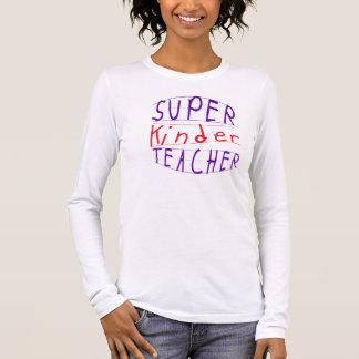 Netterer Lehrer-T - Shirtstudent entworfen! Langärmeliges T-Shirt