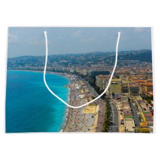 Nettes Frankreich gelegen im französischen Riviera Große Geschenktüte