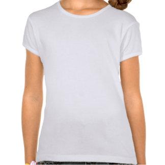 Nettes und überzeugtes Mädchen-Shirt Tshirt