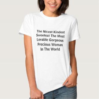 Netteste, nettste süßeste Frau Hemden