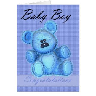 Neue Baby-Glückwünsche Grußkarte