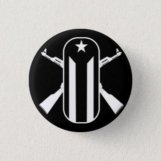 Neue junge Lords Runder Button 3,2 Cm