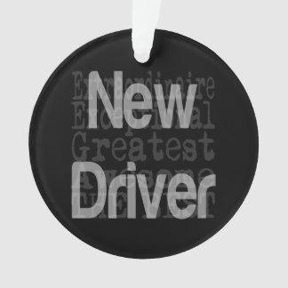 Neuer Fahrer Extraordinaire Ornament