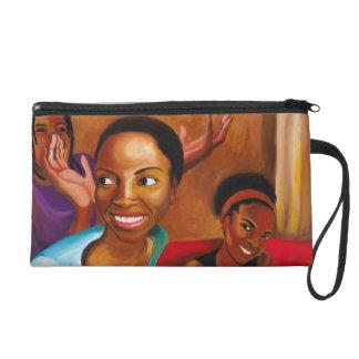 Neuer Haarschnittgeldbeutel Wristlet Handtasche