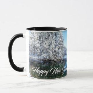Neues Jahr-Thema-Tasse Tasse