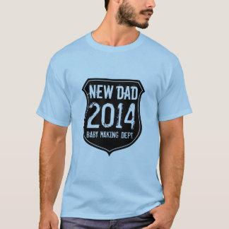 Neues Vatit-shirt 2014 für Vater des neugeborenen T-Shirt