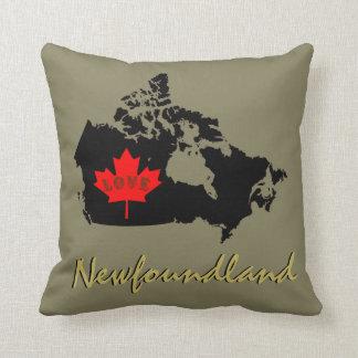 Neufundland fertigen Liebe-Kanada-Provinz Kissen