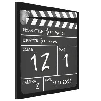 Neuheits-personalisierter einzigartiger Film Leinwanddruck