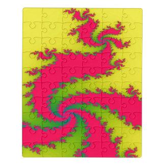 Neujahrsfest-Drache-Acryl-Puzzlespiel Puzzle