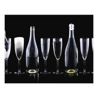 Neujahrstag-Champagne-Toast Flyer