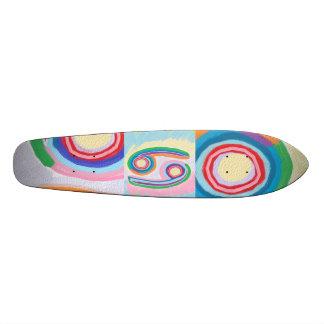 NEUNUNDSECHZIG symbolische homosexuelle Kunst Skateboarddeck