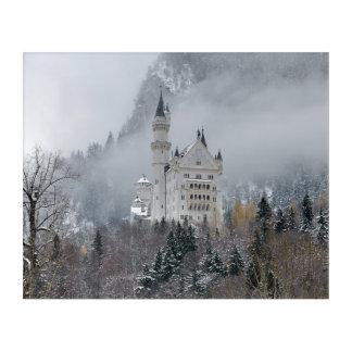 Neuschwanstein-Schloss im Bayern, Deutschland Acryldruck