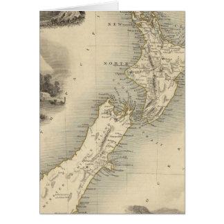 Neuseeland 2 karte