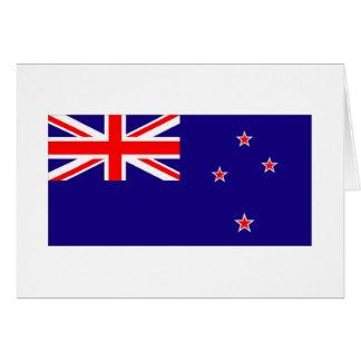 NEUSEELAND-FLAGGE KARTE