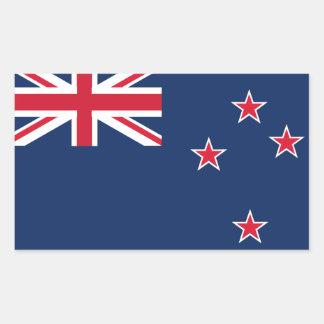 Neuseeland-Flagge Rechteckiger Aufkleber