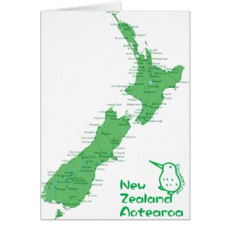 Neuseeland-Karte Karte