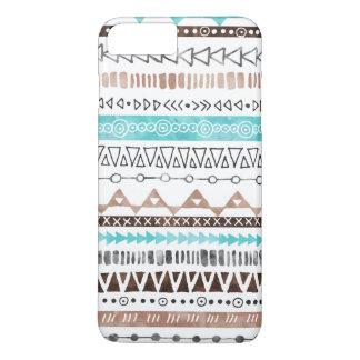 Neutraler Brown aquamariner grauer iPhone 8 Plus/7 Plus Hülle