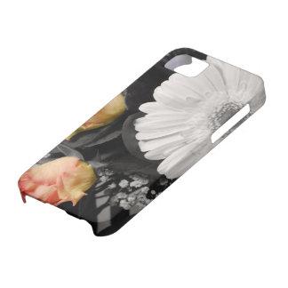 Neutrales Blumendesign Schutzhülle Fürs iPhone 5