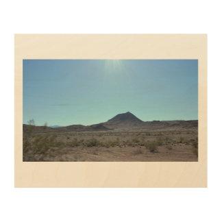 Nevada-Berge Holzdruck