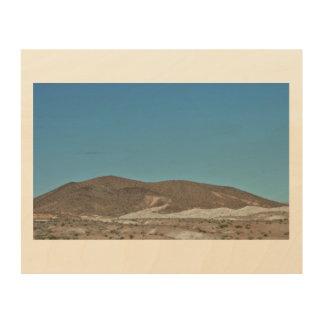 Nevada-Berge Holzleinwand