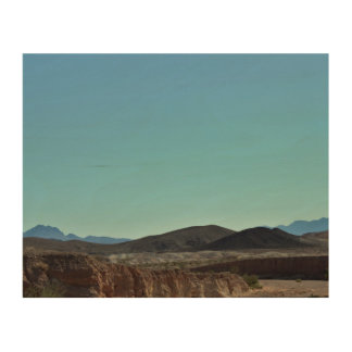 Nevada-Berge Holzwanddeko