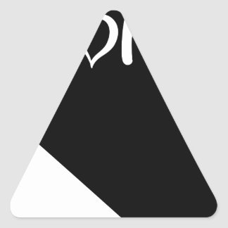 Nevada Dreieckiger Aufkleber