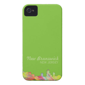 NEW-BRUNSWICK, NEW-JERSEY SKYLINE WB1 - Case-Mate iPhone 4 HÜLLEN