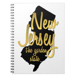 New-Jersey - der Garten-Staat Notizbücher