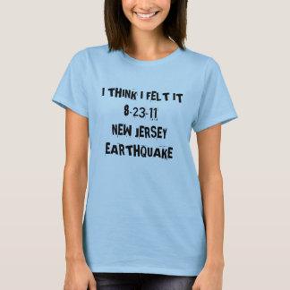 New-Jersey Erdbeben T-Shirt