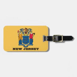 New-Jersey Flaggen-Gepäckanhänger Gepäckanhänger