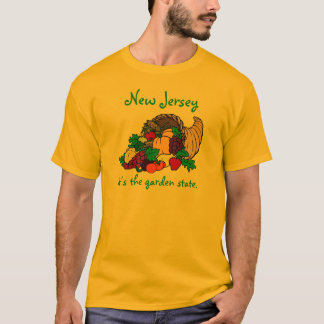 New-Jersey Garten-Staat T-Shirt
