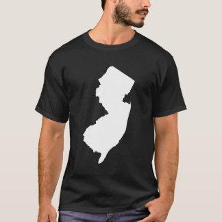 New-Jersey im Weiß und im Schwarzen T-Shirt