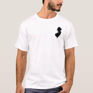 New-Jersey in Schwarzweiss T-Shirt