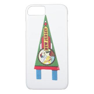 New-Jersey NJ Andenken-Wimpel-Handy-Fall iPhone 8/7 Hülle