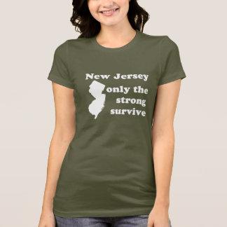 New-Jersey, nur, das die starken überleben T-Shirt