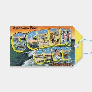 New-Jersey Postkarte Geschenkanhänger