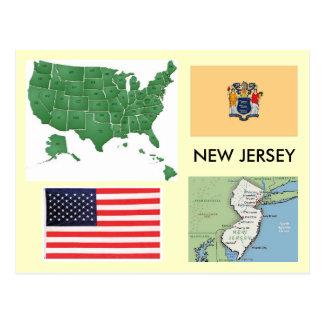New-Jersey, USA Postkarten