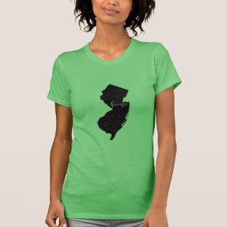 New-Jersey Zuhauseskript T-Shirt