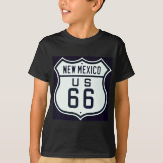 New Mexiko des Weg-66 T-Shirt